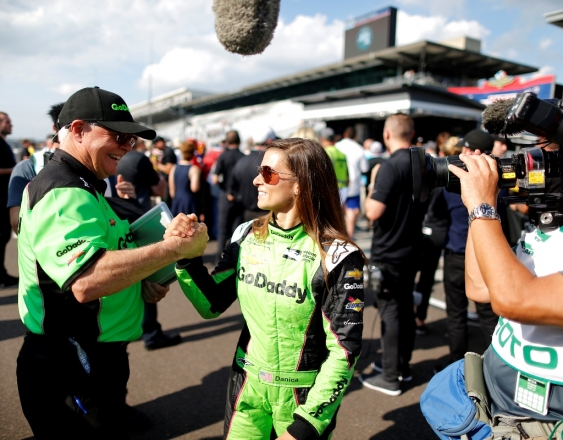 Danica Qualifies 7th for Indy 500